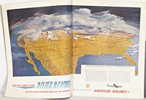 The Saturday Evening Post. 1952 - 01: AMERICAN AIRLINES) Whitmore,
