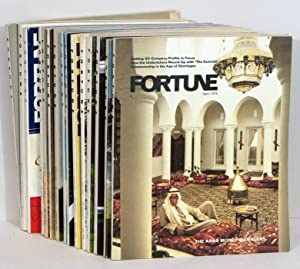 Fortune Magazine. LOT OF 15 magazine from 1973, 1974, and 1975.