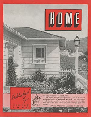 Home. Issue No. 3.