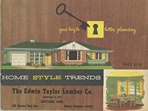 Home Style Trends.: 1950s HOUSE PLANS)