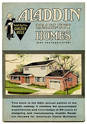 Aladdin Readi-Cut Homes (Not Prefabricated). ARCHIVE OF SIX CATALOGS.
