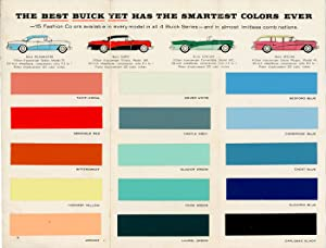 1956 Buick Fashion Colors