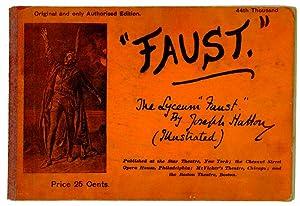 """Faust: The Lyceum """"Faust"""" by Joseph Hatton: FAUST - SOUVENIR"""