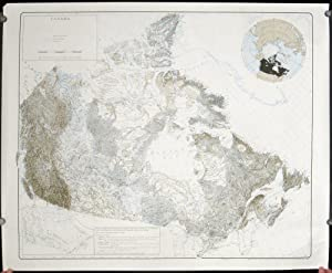 Landform Map of Canada.