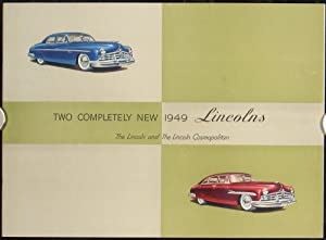 Two Completely New 1949 Lincolns (Advertising Booklet).