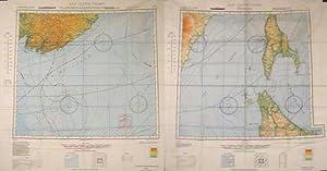 AAF Cloth Map - Asiatic Series. Otomari: JAPAN / USSR