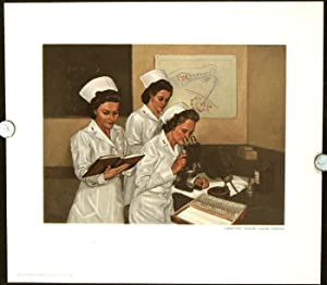Paintings of Army Medicine: Reproductions from the Abbott Collection; TOGETHER WITH The Abbott Co...