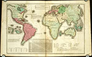 A Chart Exhibiting the Actual and Comparative Size of each Country, Nation, or Kingdom; its Popul...