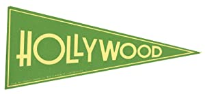 Hollywood. [LUGGAGE LABEL]: CALIFORNIA - HOLLYWOOD)