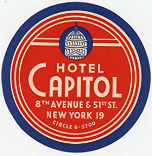 Hotel Capitol 8th Avenue & 51st St.: UNITED STATES -