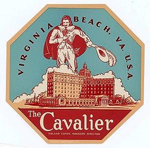 The Cavalier Virginia Beach, VA. U.S.A. Roland: UNITED STATES -