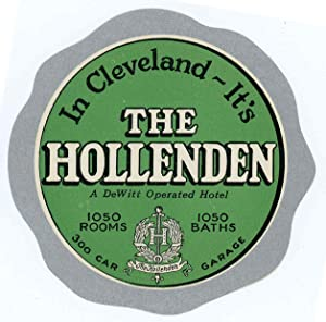 In Cleveland - It's The Hollenden. A: UNITED STATES -