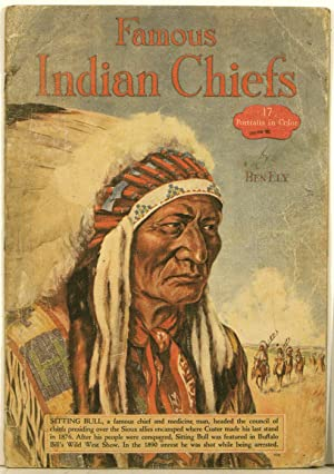 Famous Indian Chiefs. 17 Portraits in Color.
