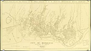 Honolulu Map and Guide. Map title: City of Honolulu--Territory of Hawaii.