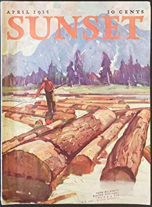 Sunset Magazine. April 1935.