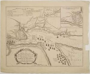 An Authentic Plan of the River St. Laurence from Sillery to the Fall of Montmorenci; with the Ope...