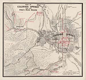 Colorado Springs. The Gateway to Colorado's Grandest Scenery. Free Guide and Map of Colorado Spri...