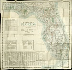 Sectional Map of Florida.