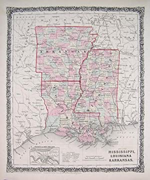 Mississippi, Louisiana & Arkansas.