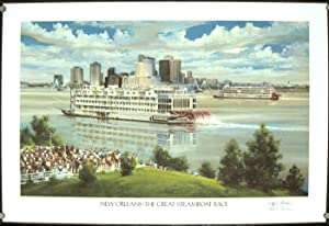 New Orleans - The Great Steamboat Race.