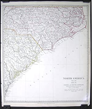 North America. Sheet XI. Parts of North and South Carolina.