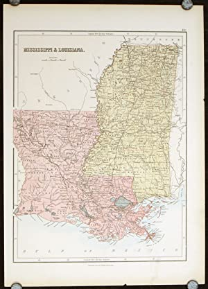 Mississippi & Louisiana.