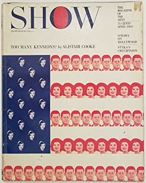 Show. The Magazine of the Arts. April 1963.