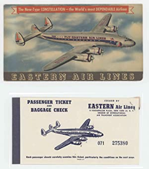 Eastern Air Lines passenger ticket.