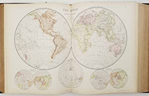 The Comprehensive Atlas & Geography of the World: Comprising an Extensive Series of Maps, A Descr...