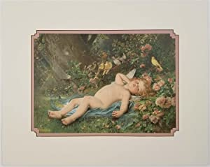 The Awakening. Le Reveil de l'Amour. CUPID & ROSES.