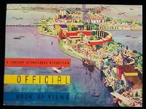 Official View Book A Century of Progress: 1933 Chicago. THE REUBEN H DONNELEY CORPORATION (publ)