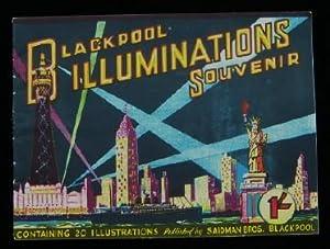 Blackpool Illuminations Souvenir: Blackpool. SAIDMAN BROS