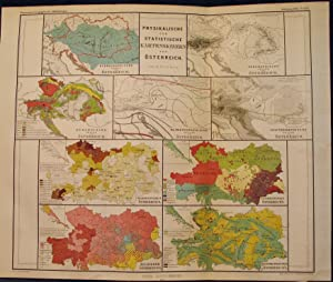 9 1864 Maps of the Physical and Statistical Characteristics of Austria