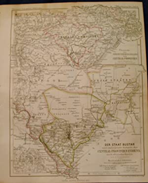 Two 1864 Maps of Central India and the Bastar Province