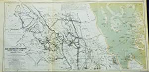 3 Maps and 1 Drawing from the German Expeditions of North Abbysinia, 1838-1861