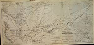 1865 Original Map from Gerhard Rohlfs' Journey: Petermann, A.