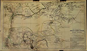 1863 Map of the River Basins of the Binue, Old Calabar & Cameroon in West Africa. With Special Co...