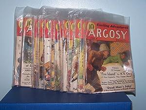 Argosy Weekly; 13 Volumes