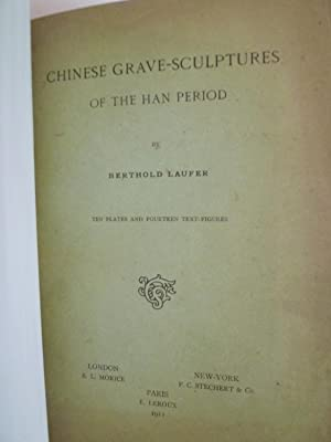 Chinese Grave - Sculptures: LAUFER (B.)