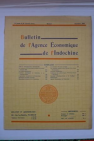 Bulletin de l'Agence Economique de l'Indochine, 3ème Année No. 35, Mars ...
