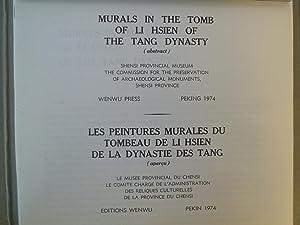 Murals in the Tomb of Li Hsien of the Tang Dynasty - Les Peintures Murales du Tombeau de Li Hisien ...