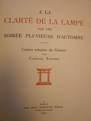 A la clarté de la Lampe par une Soirée Pluvieuse d'Automne. Contes adapté...