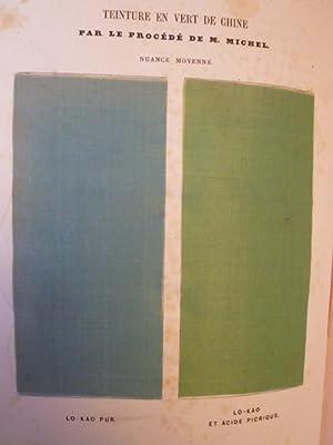 Notice du Vert de Chine et de la Teinture en vert chez les Chinois: RONDOT (Natalis)