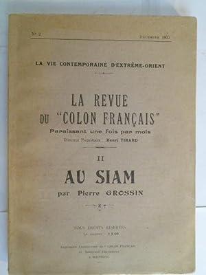 Au Siam (II): GROSSIN (Pierre)