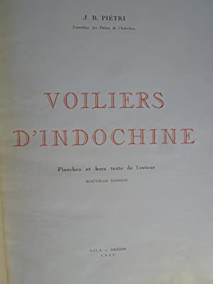 Voiliers d'Indochine: PIETRI (J.-B.)