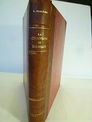 La Chanson de Damsan - Légende Radé du XVIe Siècle: SABATIER (Léopold)