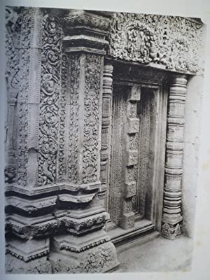 Le Temple d'Içvarapura (Bantay Srei - Cambodge ): FINOT (L.) - PARMENTIER (H.) - ...