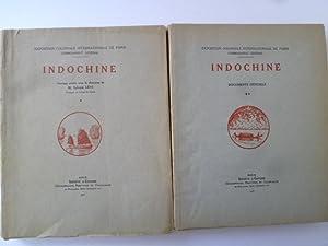 Indochine: LEVI (Sylvain) (sous la direction de) - [INDOCHINE] [EXPOSITION COLONIALE INTERNATIONALE...
