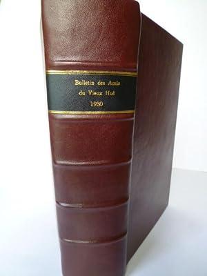 Bulletin des Amis du Vieux Hué - 1930 - ensemble des 4 bulletins trimestriels. XVIIe Ann&...