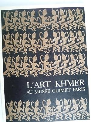 L'Art Khmer au Musée Guimet: AUBOYER (Jeannine)